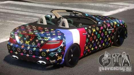 Mercedes Benz SLK DDS PJ3 для GTA 4