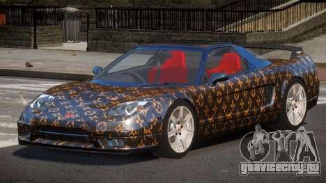 Honda NSX-R LT PJ1 для GTA 4