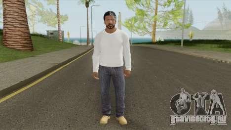 Franklin Clinton (White Outfit) для GTA San Andreas