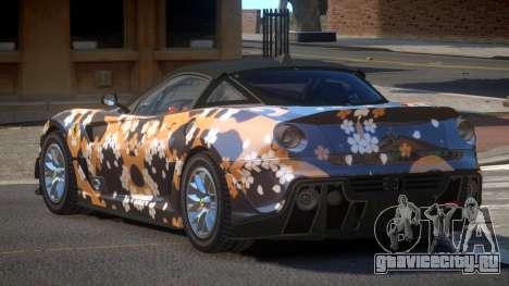 Ferrari 599XX R-Tuning PJ2 для GTA 4