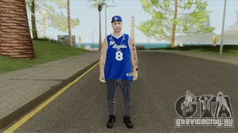 Random Male V1 (Los Angeles Lakers) для GTA San Andreas