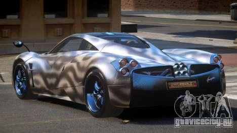 Pagani Huayra GBR PJ4 для GTA 4