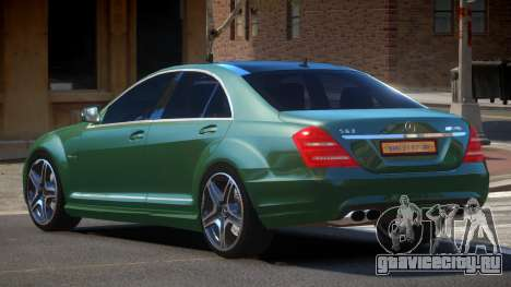 Mercedes Benz S63 DC для GTA 4