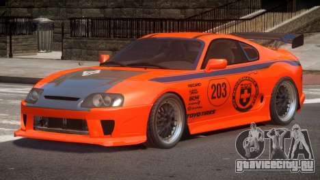 Toyota Supra SR PJ4 для GTA 4