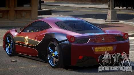 Ferrari 458 SRI-37 PJ6 для GTA 4