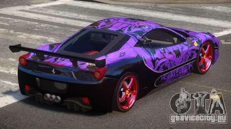 Ferrari 458 SRI-37 PJ5 для GTA 4