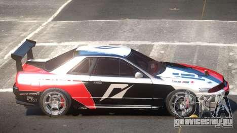 Nissan Skyline R32 D-Style PJ4 для GTA 4