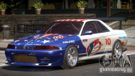 Nissan Skyline R32 D-Style PJ5 для GTA 4