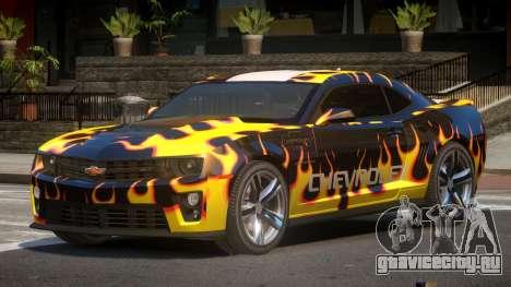 Chevrolet Camaro STI PJ6 для GTA 4