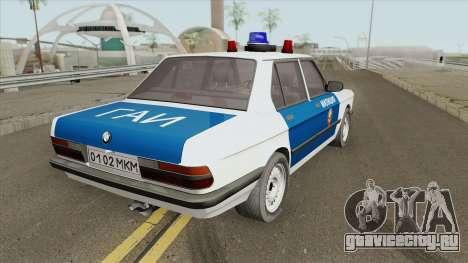BMW 525E (E28) Police 1987 для GTA San Andreas