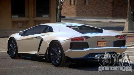 Lamborghini Aventador JRV PJ4 для GTA 4