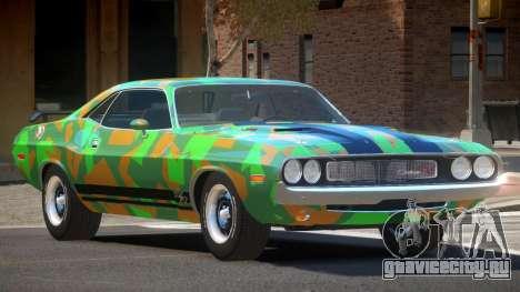 Dodge Challenger RT H-Style PJ4 для GTA 4