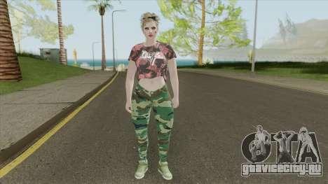 Random Female Skin V1 (GTA Online) для GTA San Andreas