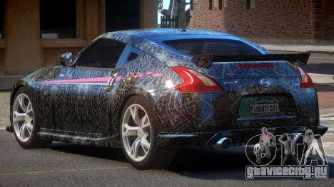 Nissan 370Z SR PJ4 для GTA 4
