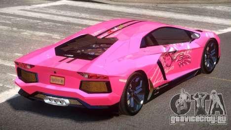 Lamborghini Aventador LP700 RP PJ4 для GTA 4