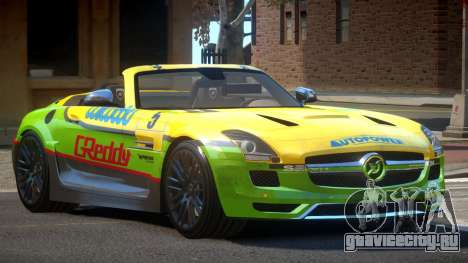 Mercedes-Benz SLS H-Style PJ3 для GTA 4