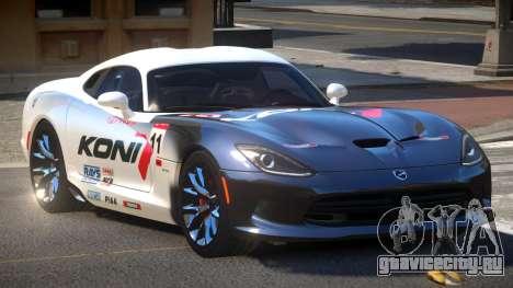 Dodge Viper SRT D-Tuned PJ4 для GTA 4