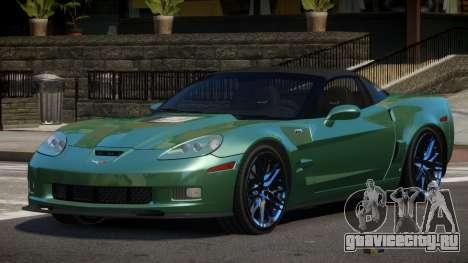 Chevrolet Corvette SE для GTA 4