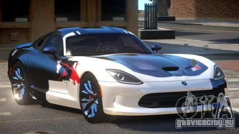 Dodge Viper SRT D-Tuned PJ2 для GTA 4