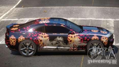 Chevrolet Camaro ZL1 R-Tuned PJ4 для GTA 4