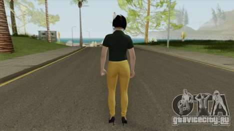 Agatha Barker (Casual) V1 GTA Online для GTA San Andreas