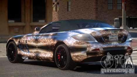 Mercedes-Benz SLR RTF PJ2 для GTA 4