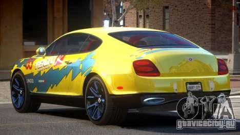Bentley Continental RT PJ1 для GTA 4