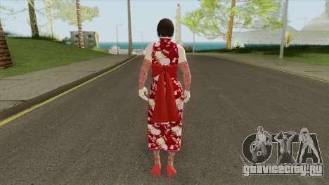 Anna Williams V1 (Tekken) для GTA San Andreas