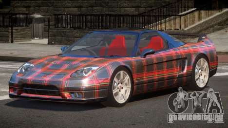 Honda NSX-R LT PJ6 для GTA 4