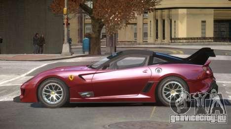 Ferrari 599XX R-Tuning для GTA 4