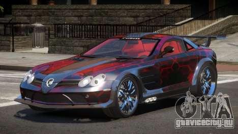 Mercedes Benz SLR H-Style PJ3 для GTA 4