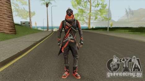 Shadow Red (Free Fire) для GTA San Andreas