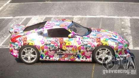 Nissan 370Z SR PJ3 для GTA 4