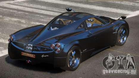 Pagani Huayra GBR для GTA 4