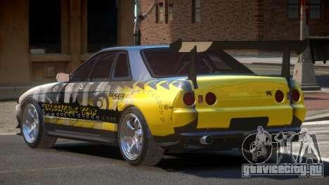 Nissan Skyline R32 D-Style PJ6 для GTA 4