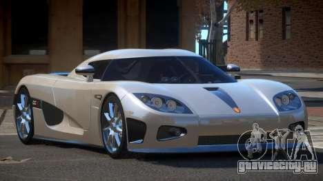 Koenigsegg CCX S-Tuned для GTA 4