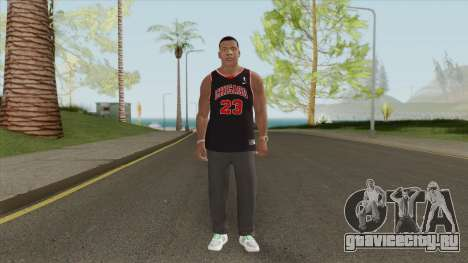 Franklin Clinton (Chicago Bulls) для GTA San Andreas