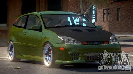 Ford Focus SVT R-Tuning PJ4 для GTA 4