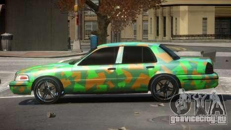Ford Crown Victoria R-Tuned PJ4 для GTA 4