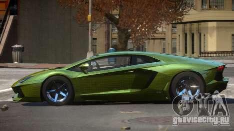 Lamborghini Aventador S-Style PJ4 для GTA 4