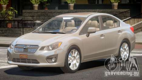 Subaru Impreza SN28 для GTA 4