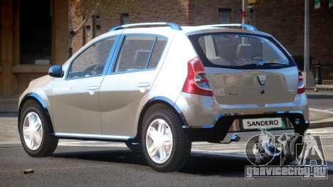 Dacia Sandero V1.0 для GTA 4