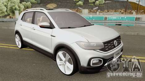 Volkswagen T-Cross 2019 HQ для GTA San Andreas