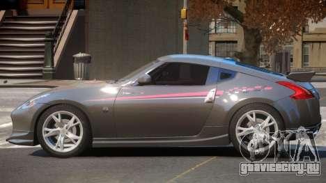 Nissan 370Z SR PJ1 для GTA 4