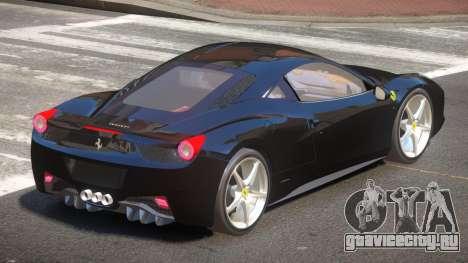 Ferrari 458 JF для GTA 4