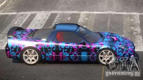Honda NSX-R LT PJ4 для GTA 4