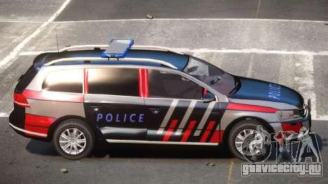 Volkswagen Passat UL Police для GTA 4