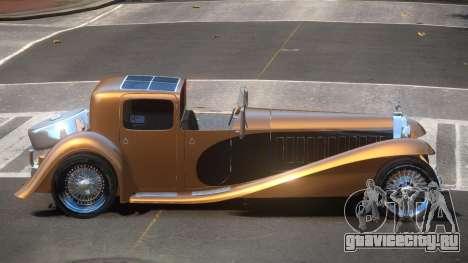 Bugatti Type 41 Old для GTA 4