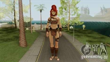 Big Giganta V2 (DC Legends) для GTA San Andreas