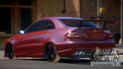 Mercedes Benz CLK 63 R-Tuning для GTA 4
